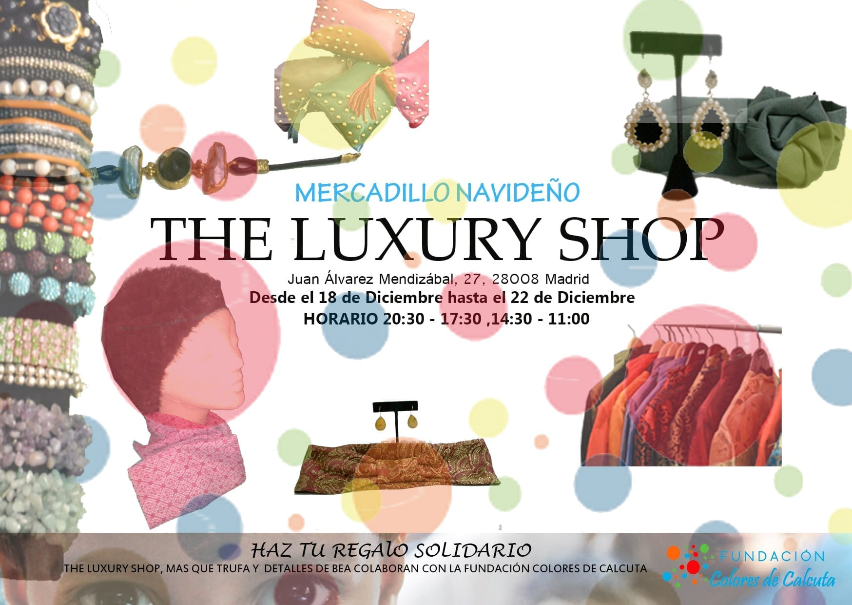 Invitación Mercadillo The Luxury Shop