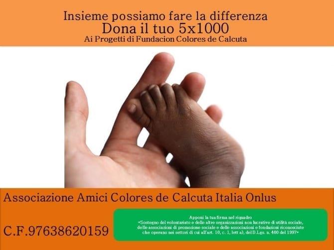 Amici Colores de Calcuta Italia 5X1000