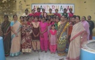 Día de la Mujer en Anand Bhavan