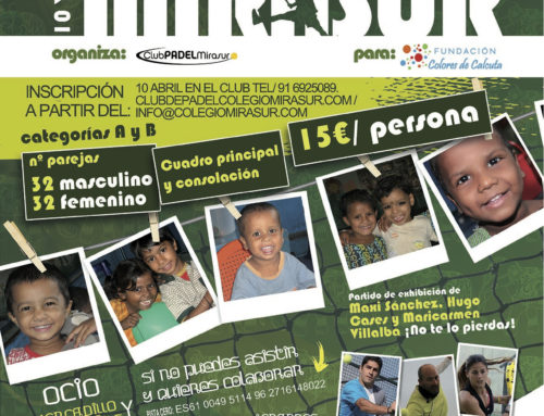 2º Torneo de Pádel Solidario Mirasur