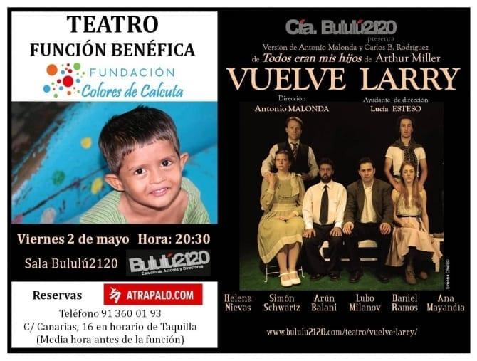 Vuelve Larry de Compañía de Teatro Bululú2120