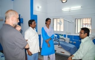 Clínica dental en centro médico Pilkhana