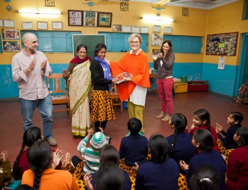 """First Copy of the Book of Photography """"Through the Eyes of Girls"""" In Anand Bhavan"""