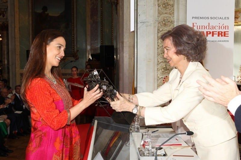 Premio MAPFRE Colores de Calcuta Reina Sofía