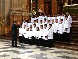 Coro de la Escolania del Real Monasterio de El Escorial