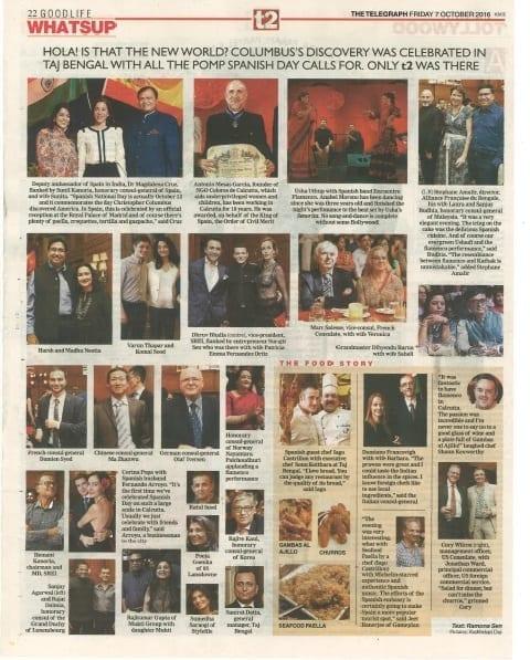 Artículo en The Telegraph. Encomienda de la Orden del Mérito Civil. Antonio Mesas