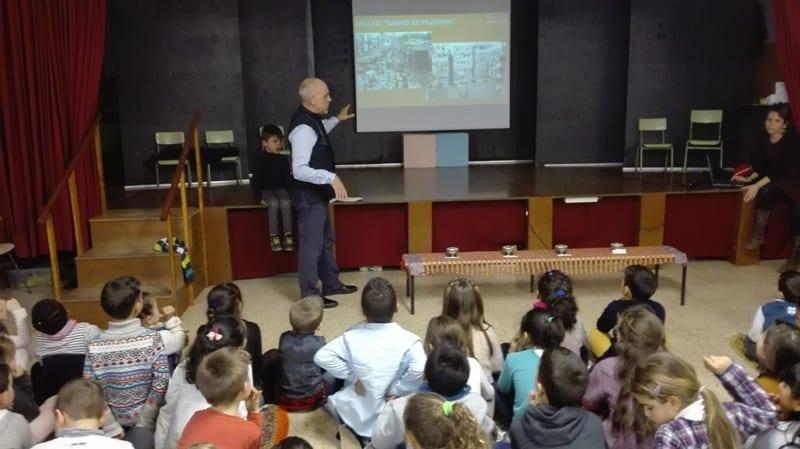 Antonio Mesas en Escola La Sardana