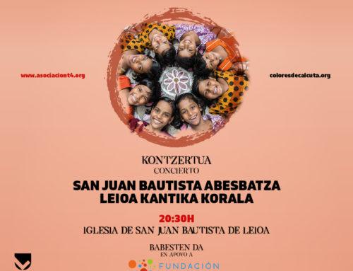Concierto en Bilbao en apoyo a Colores de Calcuta
