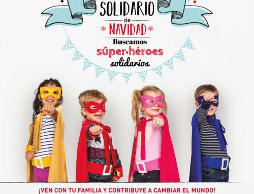 Mercadillo solidario de Navidad en Madrid