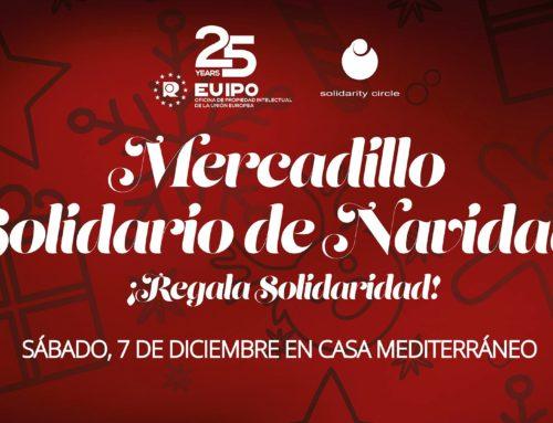 Mercadillo Solidario en Alicante organizado por SOLCIR/EUIPO